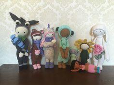 lalylala family made by Jessica Z. / crochet patterns  by lalylala