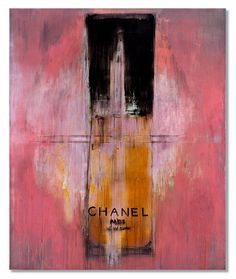stina spadaro, 'cristalle', oil on canvas
