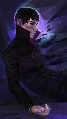 """luccorvus: """"Death of The Outsider ✦ """" Video Game Art, Video Games, Ocean Monsters, Dishonored 2, Vampire Stories, The Empress, Animation, The Draw, Bioshock"""