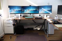 Mejores 113 Imagenes De Desktop Setup En Pinterest Office Setup