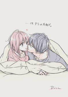 Romantic Anime Couples, Romantic Manga, Anime Couples Drawings, Anime Couples Manga, Manga Anime, Anime Couples Sleeping, Anime Couples Cuddling, Anime Couples Hugging, Best Anime Couples