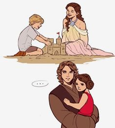 """1,701 Likes, 8 Comments - Star Wars (@_in_love_with_star_wars_) on Instagram: """"But Anakin hates sand... #starwars #starwarslove #lovestarwars #anakin #anakinskywalker #skywalker…"""""""