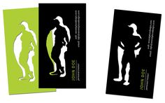 Previous work | Seventy Two / custom illustration and design, personal trainer business card