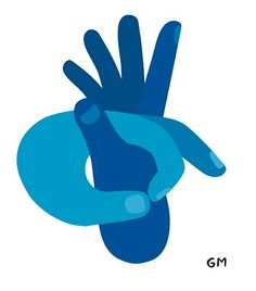 By Geoff Mcfetridge Hand Illustration, Create A Brand Logo, Geoff Mcfetridge, Design Art Drawing, Mandala Doodle, Hand Art, Illustrations And Posters, Grafik Design, Simple Art
