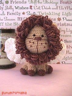 little lion crochet amigurumi