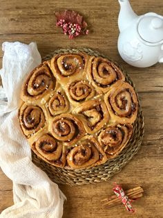 Cinnamon Rolls con Nueces http://irenecocinaparati.com/cinnamon-rolls-nueces/
