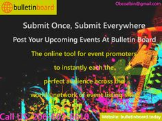 Promote your business with Bulletin Board using posting your classified ads here.