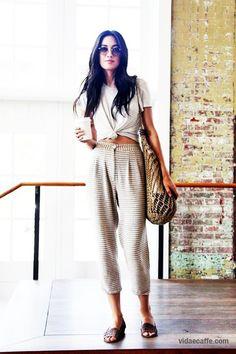 Model Jessica Mau Masters, Coffee Obsessed and we like.