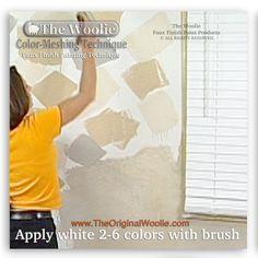 53 best color meshing faux paint technique color samples by the
