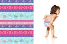 Honest Diapers in Holiday Sweater #Winter2015 #effective #safe #delightful