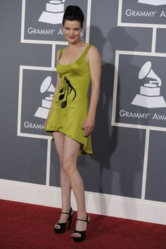 Pauley Perrette - love her, love the dress!