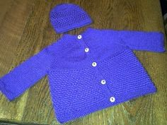 Free Pattern: Baby Amanda Sweater Variation by Allison Dove