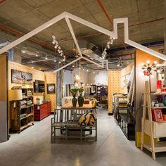Betili concept stores by Studio Samuelov, Beer-Sheva – Israel Design Furniture, Furniture Sale, Kitchen Furniture, Visual Merchandising, Beer Store, Supermarket Design, Milk Shop, Branding, Showcase Design