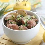 Lemony Potato Salad - Eat. Drink. Love.