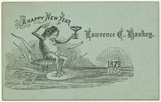 14 interesting vintage new years cards from the late 19th century old greeting cards vintage