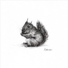 Minuscule - ORIGINAL Inktober, The Originals, Drawings, Illustration, Art, Originals, Art Background, Illustrations, Kunst