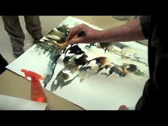 Mort Solberg painting Demo - YouTube