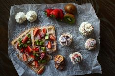 Bruschetta, Kiwi, Nutella, Tisdag, Ethnic Recipes, Food, Meals
