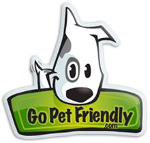 Type in your start & end points. Check pet friendly things like hotels or camp grounds, etc.
