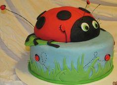 Ladybug Cake!!!