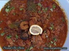 مرق الروبيان - منال العالم - YouTube Recipe D, Eastern Cuisine, Food Videos, Great Recipes, Shrimp, Cooking Recipes, Make It Yourself, Chef Recipes
