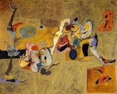 The Plow And The Song Artwork By Arshile Gorky Hand-painted And Art Prints On Canvas For Sale,you Can Custom The Size And Frame Art Gallery, American Art, Abstract Expressionism, Art Painting, Abstract Artists, Artist Inspiration, Painting, Art Movement, Contemporary Art
