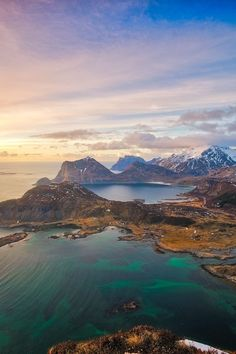 Lofoten Islands, Arctic Norway by Rod Thomas
