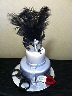 Fifty Shades of Grey Cake by Simply Sisters Cake Creations… | Flickr