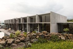 Concrete House Completely Sustainable and Self-sufficient