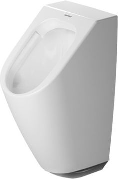 Duravit ME by Starck - Urinal Rimless 0.5L with fly HygieneGlaze white | Duravit ME by Starck - Urinal Rimless 0,5 L mit Fliege HygieneGlaze weiß