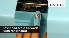The Nailbot makes custom nail art