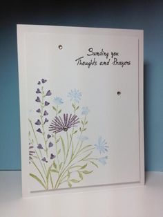 Garden Bouquet, HA, by beesmom - Cards and Paper Crafts at Splitcoaststampers