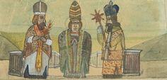 Nikifor Krynicki - Trzech biskupów Painting, Image, Art, Art Background, Painting Art, Kunst, Paintings, Performing Arts, Painted Canvas