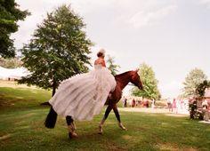 Real Wedding ,   ,  blush ,  ceremony ,  dream ,  dress ,  dresses ,  equestrian ,  horse ,  horses