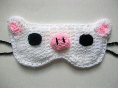 Piggy sleeping mask
