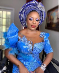 Aso Ebi Lace Styles, African Lace Styles, Lace Dress Styles, Ankara Styles, Latest Aso Ebi Styles, African Fashion Traditional, Traditional Outfits, Traditional Wedding, African Wear Dresses