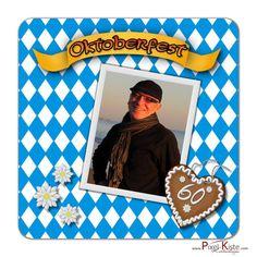 Individuelle Bierdeckel zur Oktoberfestparty / zum Geburtstag drucken #Bavaria #Oktoberfest #Bierdeckel #Geburtstag #Tischdekoration