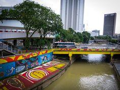 River Graffiti Art - Kuala Lumpur-13