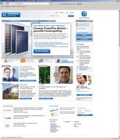 Neuer Conergy Online-Shop