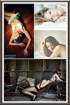 do a boudoir shoot and make an album for your groom as his gift. i think i'm going to steal this idea!