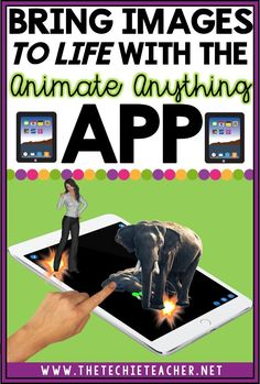 Bring Images to Life with the free Animate Anything iPad app. Great alternative to Chatterkid and YakIt. Students will love using this app for a variety of technology projects! Technology Tools, Technology Integration, Digital Technology, Educational Technology, Technology Websites, Business Technology, Educational Websites, Technology Design, Medical Technology