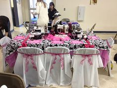 Parisian Tablescape for a Daddy Daughter Dance.