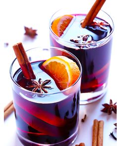 Stovetop-Mulled Wine with Brandy