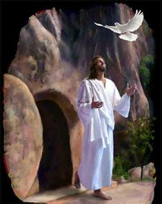 The resurrection of Jesus Christ proves that He is the Son of God. He is also the resurrection himself. Images Du Christ, Pictures Of Jesus Christ, Religious Pictures, Religious Art, Easter Pictures Of Jesus, Lds Pictures, Miséricorde Divine, Image Jesus, Way To Heaven
