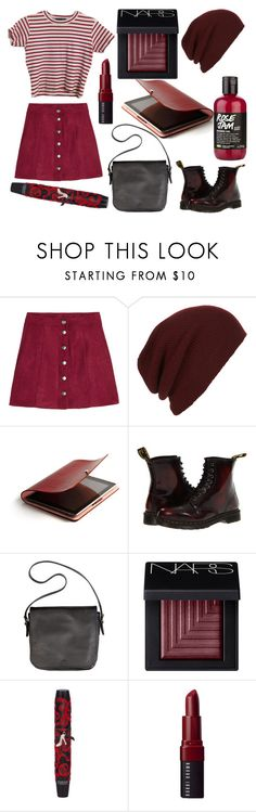 """""""Sans titre #6565"""" by crazymoustik ❤ liked on Polyvore featuring H&M, Topman, Dr. Martens, Beauty Secrets, NARS Cosmetics, Physicians Formula and Bobbi Brown Cosmetics"""