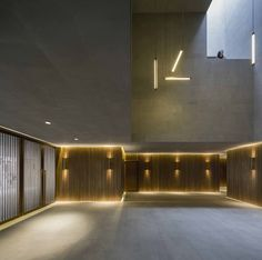 neri & hu combines stone and brass for new shanghai theatre