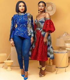 "9,897 Likes, 29 Comments - Aso Ebi Creativity to the ! (@asoebibella) on Instagram: ""So chic! @joselyn_dumas & @whit3tiger in @melange_by_pistis #AsoEbiBella upload your styles…"""