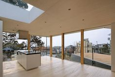 Situated in Japan's Hyōgo prefecture, this chic house makes the most out of a compact, steeply sloping lot. Designed by Shogo Aratani Architect & Associates, the dwelling sits on...