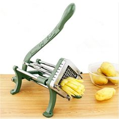 French Fries Potato Chips Strip Cutting Cutter Machine Maker Stainless Steel Slicer Chopper Dicer Kitchen Tools | E-BAYZON