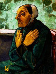 Paula Modersohn-Becker, Old Peasant Woman, 1907